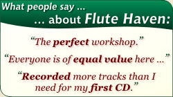 What People Say about Flute Haven